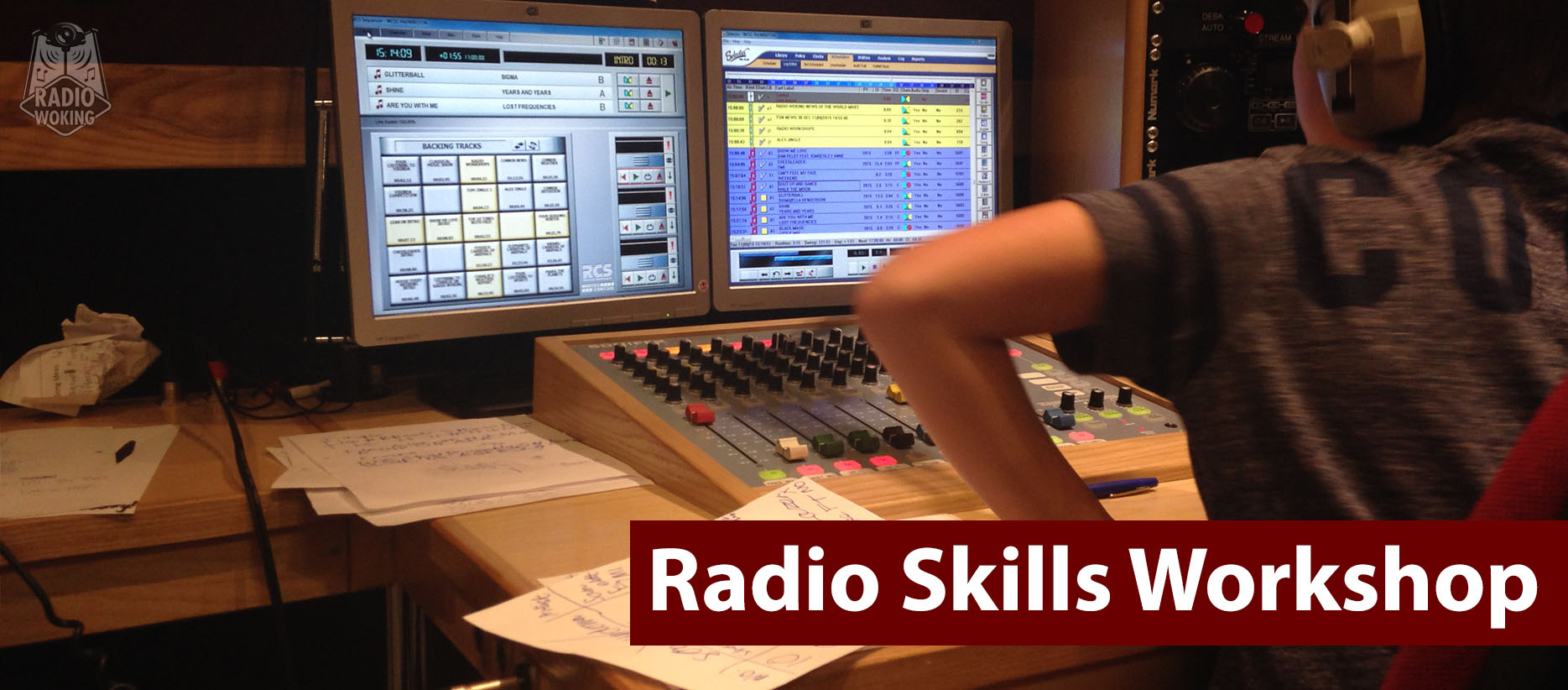 Radio Skills Workshop Banner