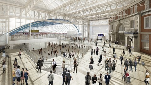 Waterloo Station Plans