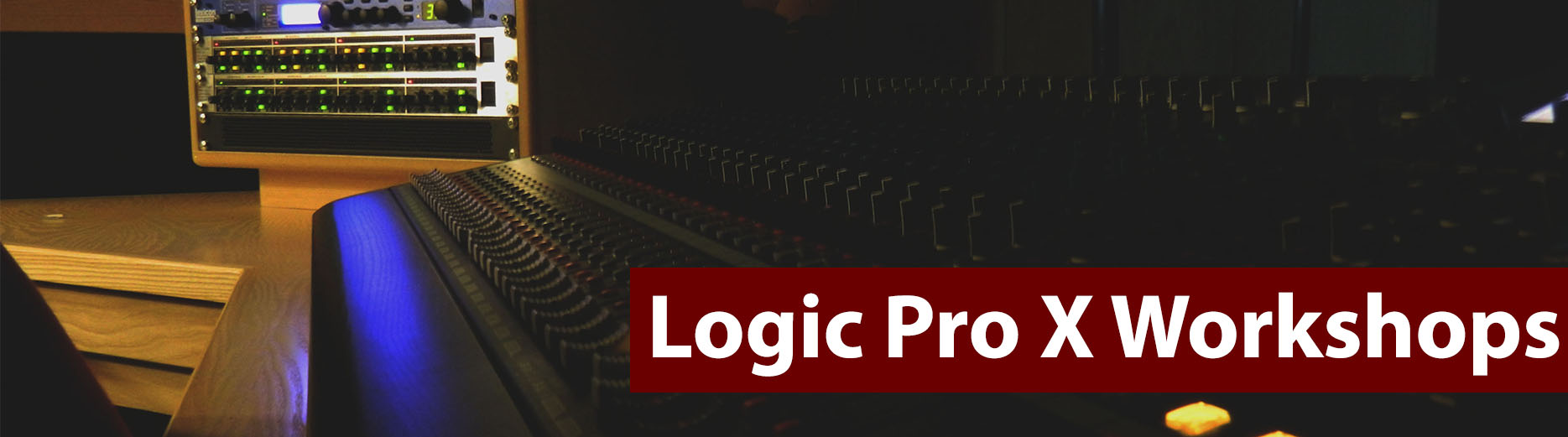 logic pro x workshops small