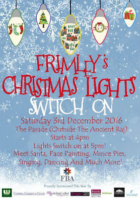 Frimley's Christmas Light Switch On