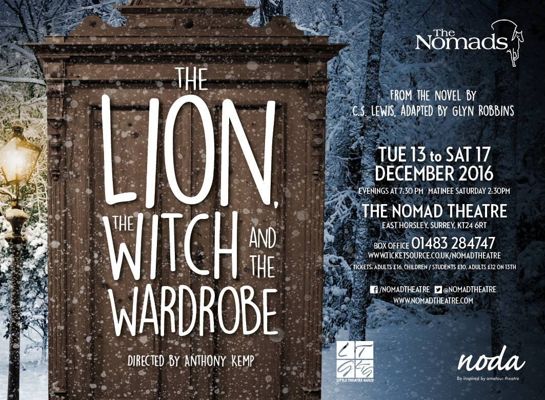 The Lion, The Witch and The Wardrobe 13 – 17 Dec
