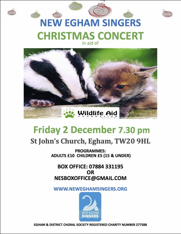 New Egham Singers Christmas Concert
