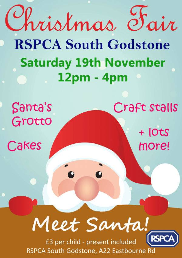 RSPCA Christmas Fair