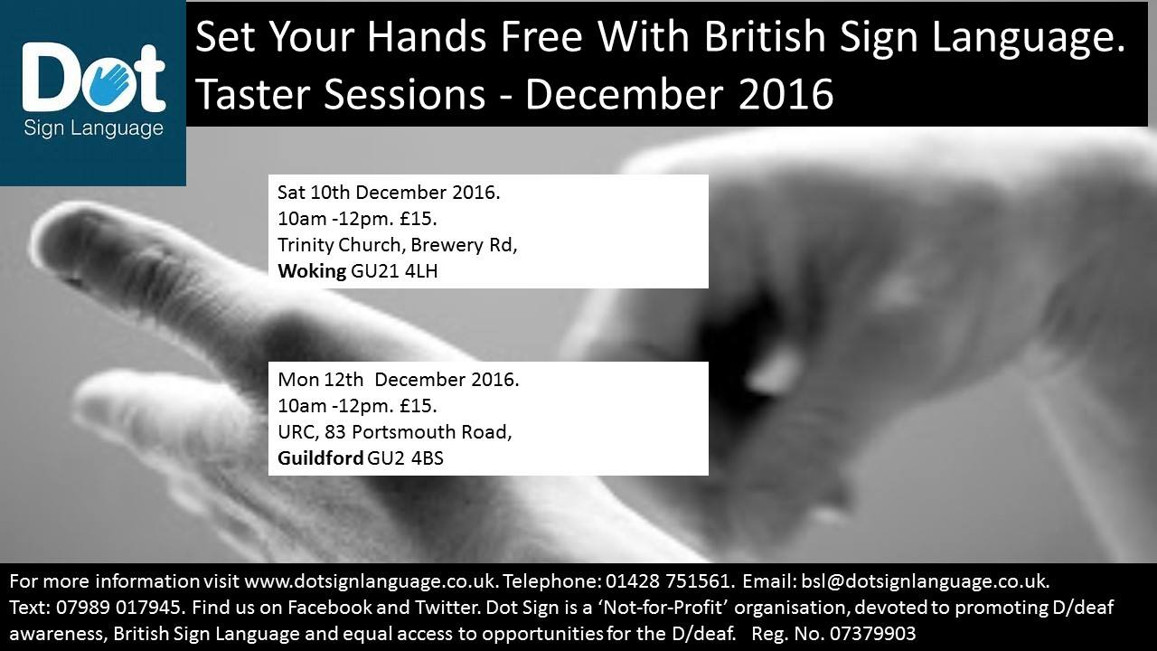 British Sign Language Taster Sessions