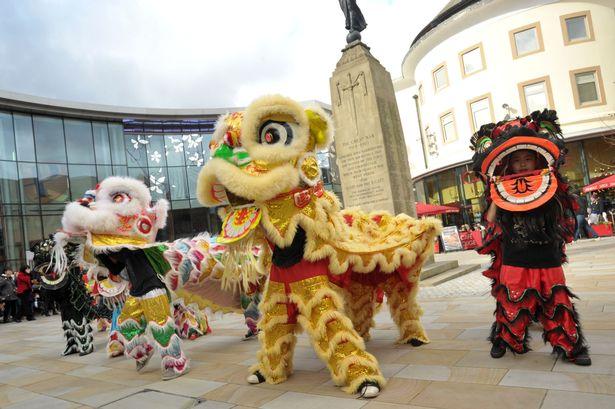 Chinese New Year Celebration Woking