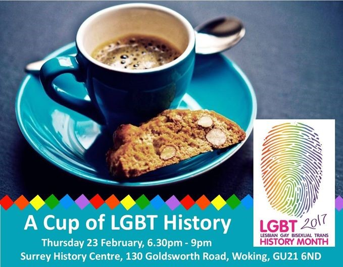 A cup of LGBT History @ Surrey History Centre