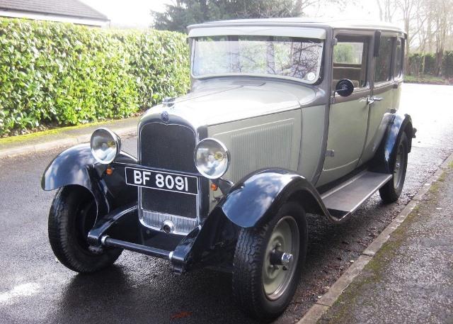 Historics at Brooklands Classic Car Auction