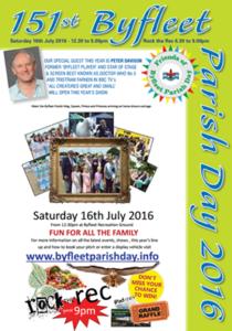 Byfleet Parish Day